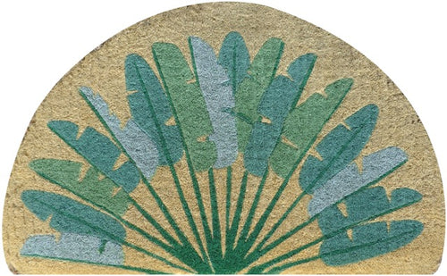 Doormat - Half Round Palm Leaves