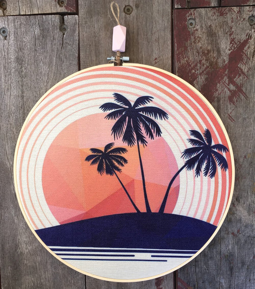 RETRO SUMMER HOOP