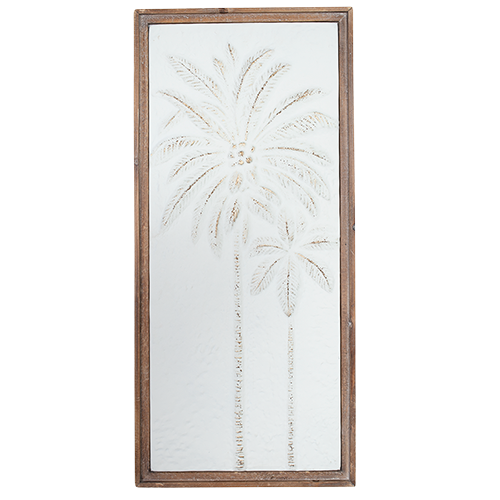 Palm Wall Art - WHITE