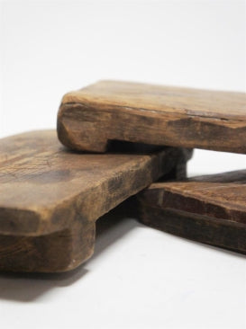 ANTIQUE WOODEN CHOPPING BOARDS - NATURAL