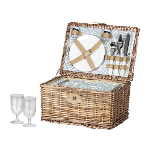 ALARI 4 PERSON PICNIC BASKET WITH COOLER