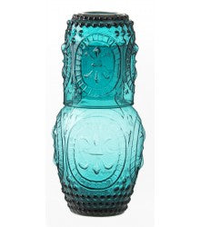 CARAFE SET AMBER PITCHER GLASS (640ML)
