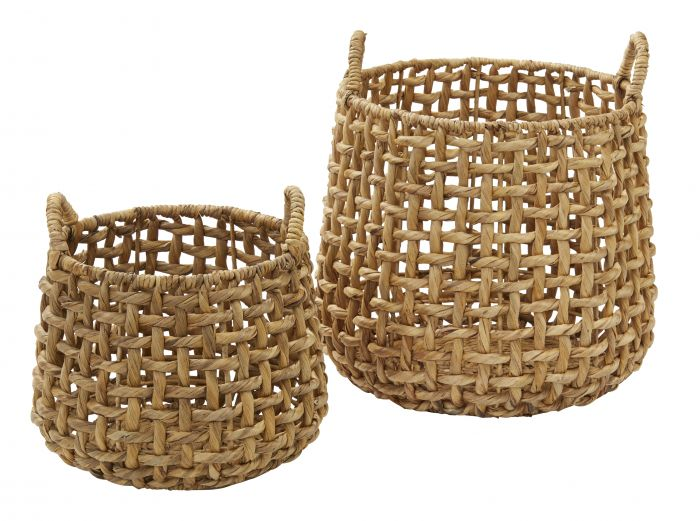 ANGUILA WATER HYACINTH BASKETS