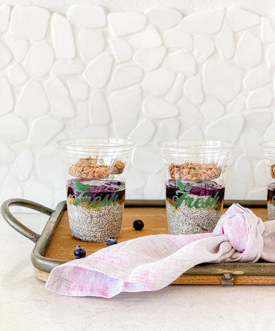 Blueberry Acai Chia Pudding