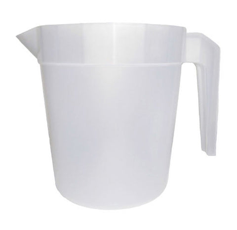 32oz blank stackable pitchers, wholesale lot, perfect for restaurants and bars.