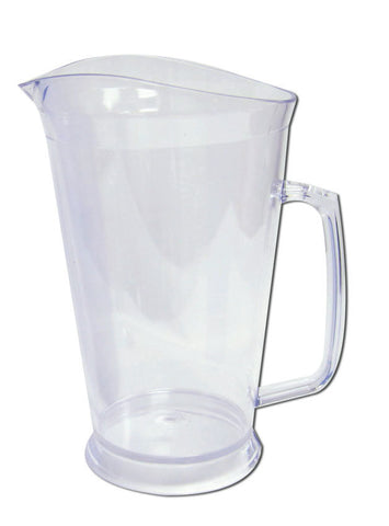 60oz clear blank pitchers, wholesale lot, perfect for your restaurant or bar.