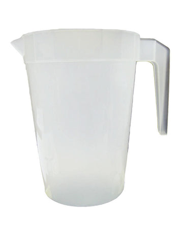 64oz blank stackable pitchers, wholesale lot, perfect for restaurants and bars.