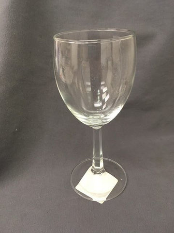 Closeout Sale- 8.5oz blank wine glasses. 99 cents each, plus one free! (17 pieces for the price of 16)