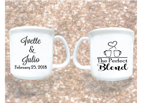 8oz plastic coffee mugs, personalized wedding favors, wedding mugs
