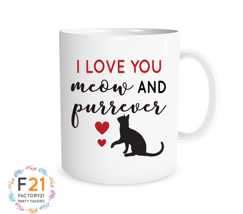 Cat Lover Valentine's Day Mug