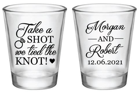 Take a shot we tied the knot- Design #3