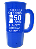 birthday party beer steins