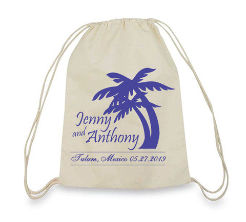 Destination wedding beach bags
