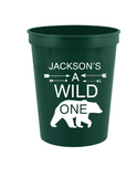 Wild One Birthday cups
