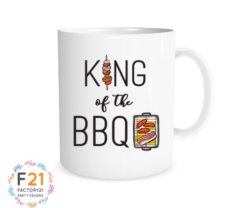 King of the BBQ Mug