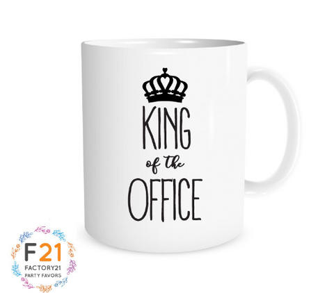 King of the Office Mug