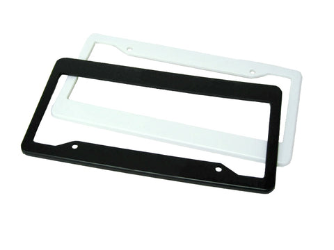 100 - License Plate Frames Blank Wholesale Bulk Lot