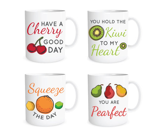 Fruit Mug Set