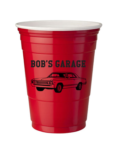 Personalized red solo cups for your wedding, birthday party, business, or any event!