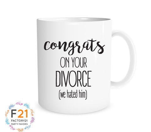 Funny Divorce Mug