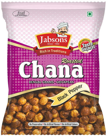Roasted Chana (Black Pepper)