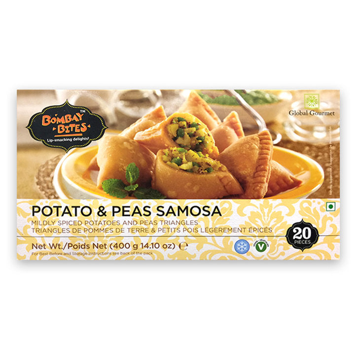 Potato & Peas Samosa with Chutney