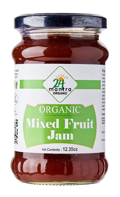 Organic Mixed Fruit Jam