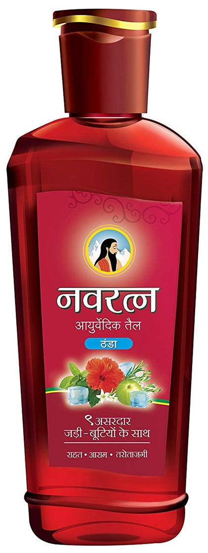 Ayurvedic Cooling Hair Oil