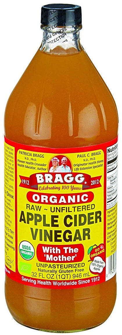 Organic Apple Cider Vinegar (RawcUnfiltered)