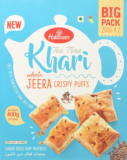 Khari (Whole Jeera Crispy Puffs)