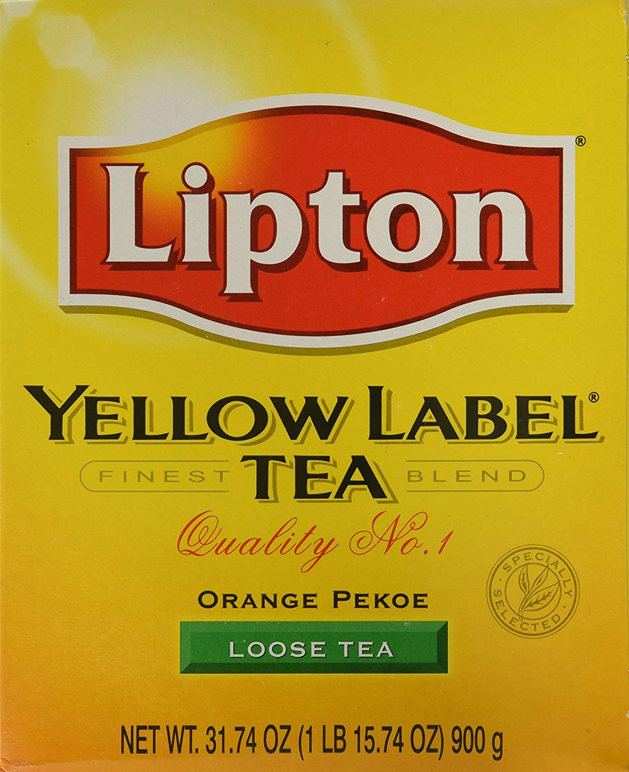 Yellow Label Tea Orange Pekoe Loose Tea