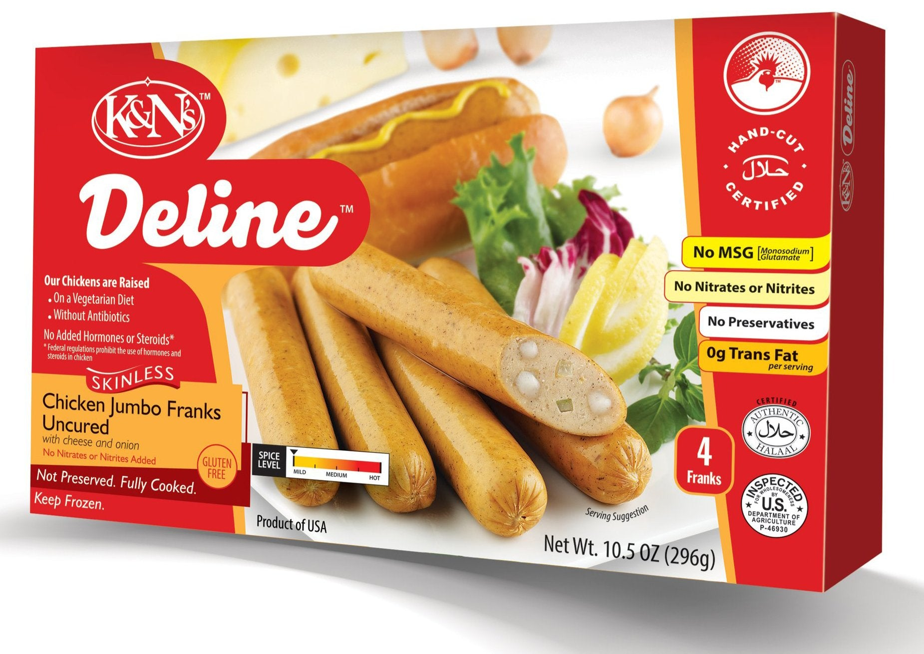 Deline Chicken Jumbo Franks