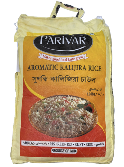 Aromatic Kalijira Rice