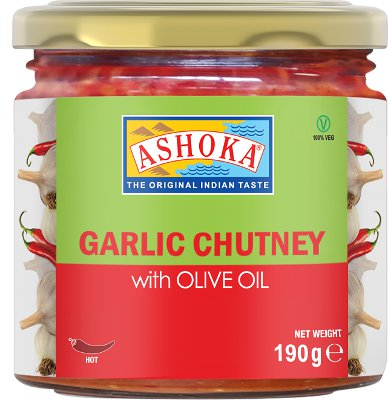 Garlic Chutney w/ Olive Oil