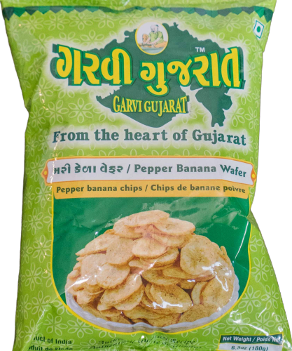 Pepper Banana Wafers
