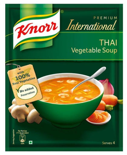 International Thai Vegetable Soup