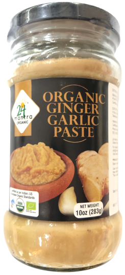 Organic Ginger Garlic Paste