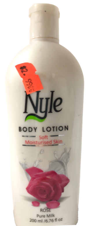 Rose Pure Milk (Body Lotion)