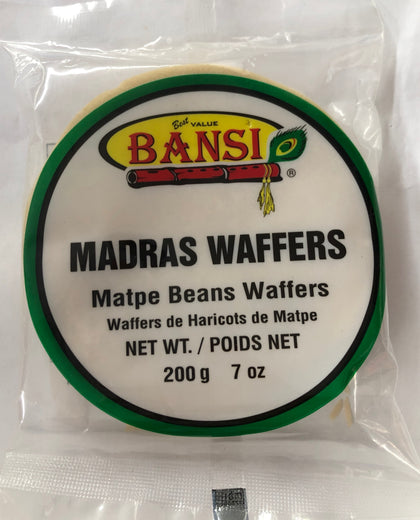 Madras Waffers