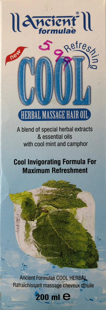 Cool Herbal Massage Hair Oil