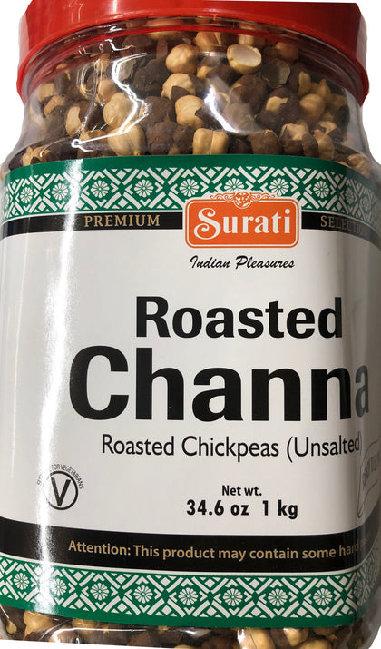 Roasted Chana (Roasted Chickpeas) - Unsalted