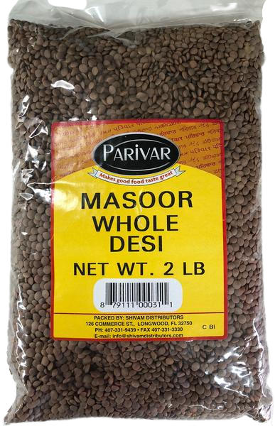 Masoor Whole Desi