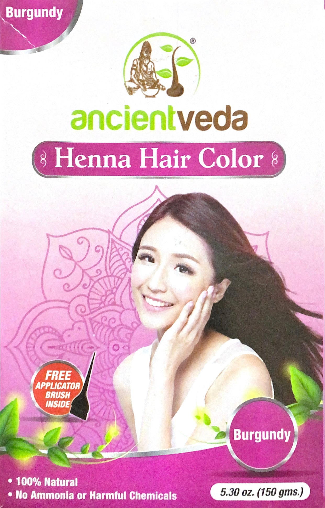 Henna Hair Color (Burgundy)