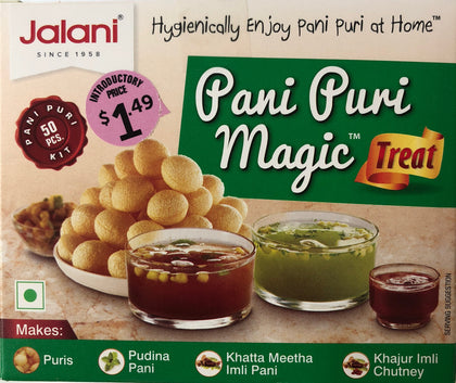 Pani Puri Magic Treat