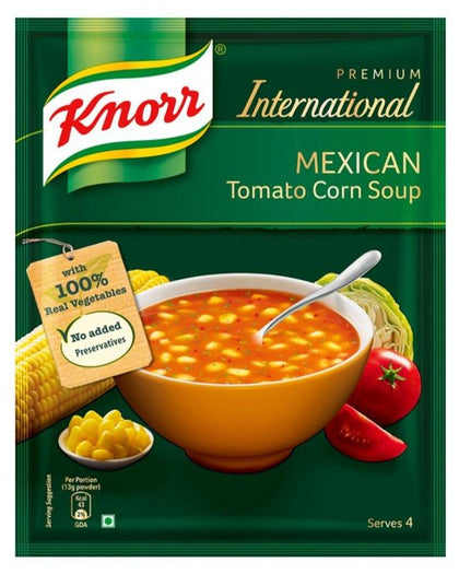Mexican Tomato Corn Soup