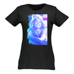 Women's T-Shirt With Stylized Close Up Image