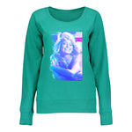 Women's French Terry Slouchy With Stylized Close Up Image