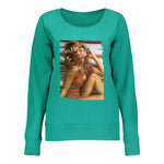 Women's French Terry Slouchy With Legendary Poster Image - Vintage