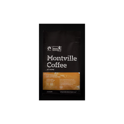 Montville Coffee Hinterland Decaffinated Blend - 250g
