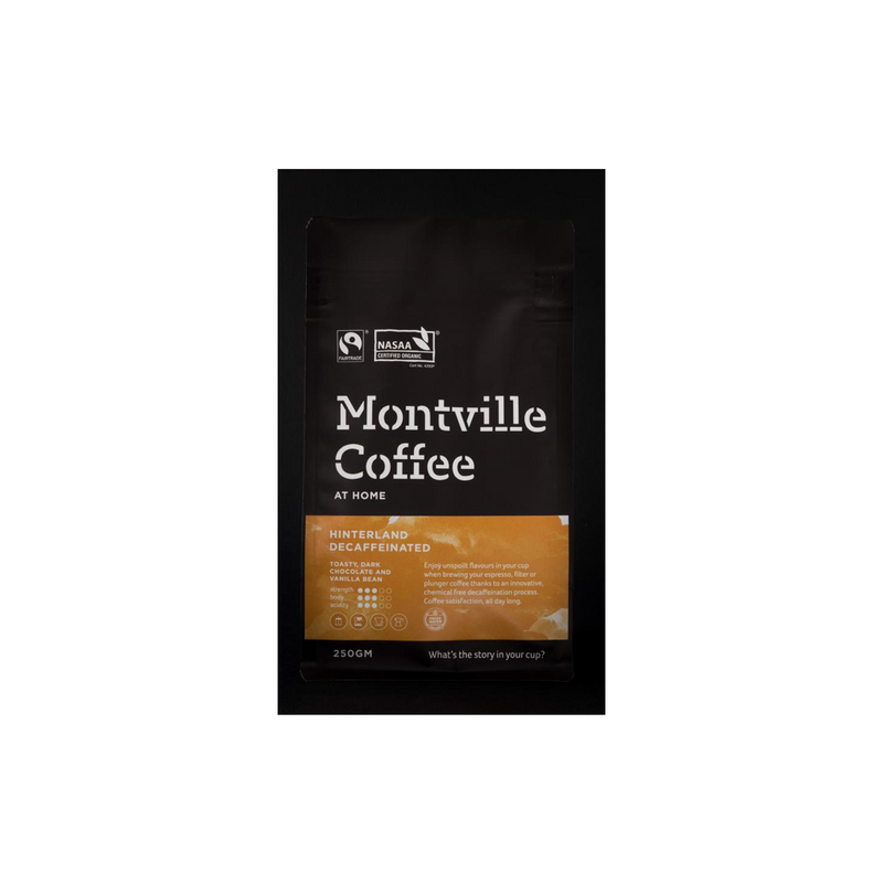Montville Coffee Hinterland Decaffeinated Blend - 1kg